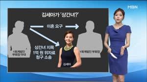 '바람난 여배우?'…김세아 '상간녀 피소' 논란 / 조아라 아나운서