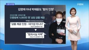 """비선진료 김영재 공판…""""혐의 인정"""" / 조아라 아나운서"""