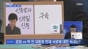 [송지헌의 뉴스와이드] 검찰 소환 앞두고 몸 낮춘 박 전 ...