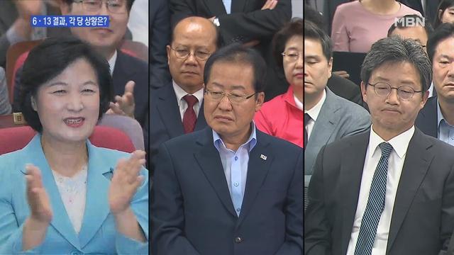 [송지헌의 뉴스와이드] 與 '악재-네거티브에도' 압승…野 '선거 후폭풍' 당대표 사퇴까지