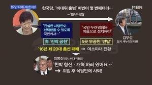 [송지헌의 뉴스와이드] 한국당, 위기 징후 계속에도 '무릎...