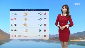내일 아침 막바지 추위…낮부터 기온 올라