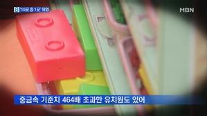 10곳 중 1곳 이상…어린이 활동공간 '부적합'