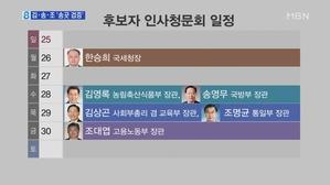 6명 줄줄이 청문회…야당, 김상곤·송영무·조대엽 '화력 집...