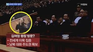 북 평창대표단은 누구?…김여정 가능성도 '솔솔'