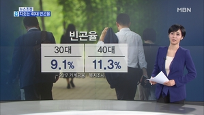 김주하의 1월 2일 뉴스초점-치솟는 40대 빈곤율