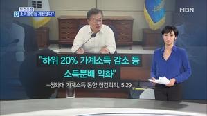 김주하의 6월 4일 뉴스초점-소득불평등 개선됐다?