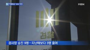 검사장 9명 승진…'적폐청산' 특수통 약진
