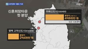 '반값' 신혼주택 10만 가구 공급…대출도 1%대 파격 지...