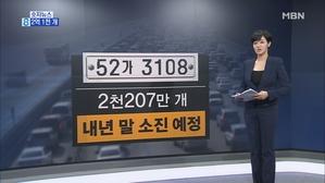 [숫자뉴스] 2억 1천 개
