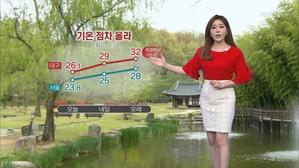 내일 낮기온 더 올라…오전 중서부 미세먼지↑