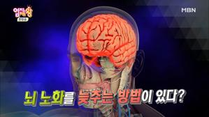 뇌 노화 막고! 젊은 뇌로 사는 법!