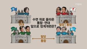 [김만흠의 시사스페셜]'박근혜 출당''안철수 통합 수순'…...