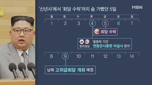 [김만흠의 시사스페셜]'김정은 신년사'에서 '회담 수락'까...