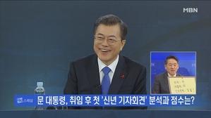 [김만흠의 시사스페셜] 문 대통령 신년 기자회견 점수와 가...