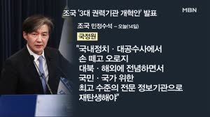 [김만흠의 시사스페셜] 靑 권력기관 개혁안 발표…조국 수석...