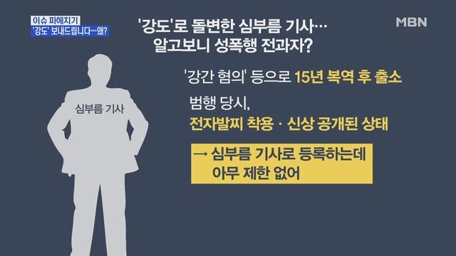 MBN 뉴스파이터-'심부름' 도중 성폭행 시도한 40대 남성 덜미