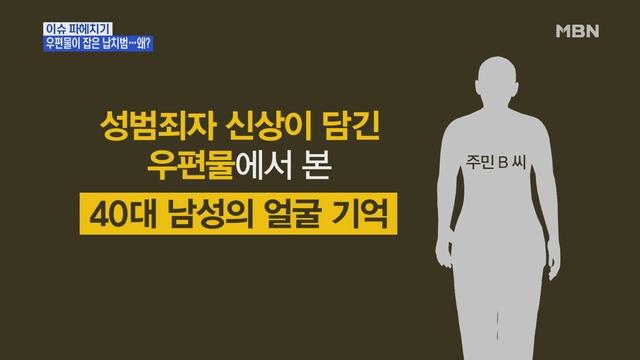 MBN 뉴스파이터-우편물에서 본 얼굴 기억…초등생 납치범 잡았다