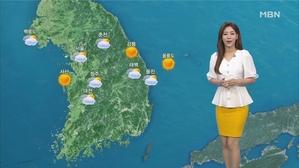 휴일 맑고 폭염 주춤…한낮 서울 30도·대구 32도