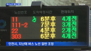 [인천] 42년 만 노선개편…재조정 되풀이 '졸속'
