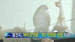 [울산] 바이오메디컬·3D프린팅 산업 지원