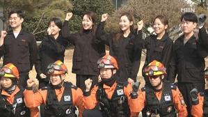[경북] '승객 안전 최우선'…항공 승무원, 소방 훈련